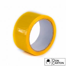 Lepící páska BOPP 48x66 Akryl žlutá
