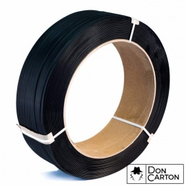 Vázací páska PP 12x0,5x3000, D406, černá