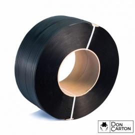 Vázací páska PP 12x0,7x2500, D200, černá