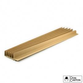 Ochranná hrana papírová 32,5x32,5x3x1200mm