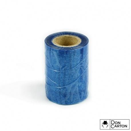 Fólie stavební ochranná 100mm x 75m, 35my, modrá