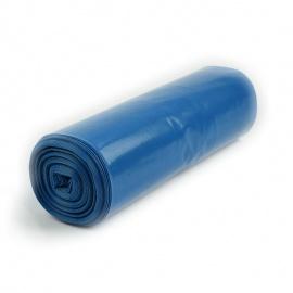 LDPE pytel 700x1100 mm, 40 my, modrý, 120L, 25ks/role