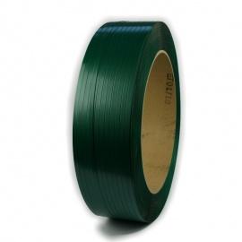 Vázací páska PET 12x0,6x2500, D406, zelená, 10% embas