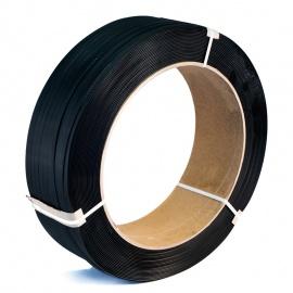 Vázací páska PP 12x0,7x2000, D406, černá