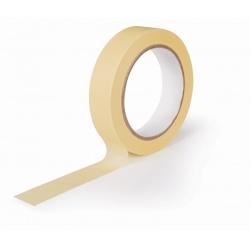 Maskovací páska 25x50 SOLV žlutá 90°C