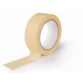 Maskovací páska 30x50 HM žlutá 60°C