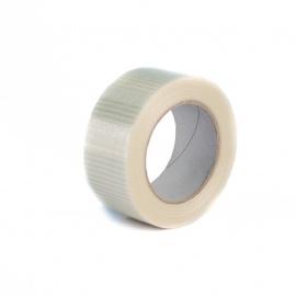 Lepící páska 50x50 HM skelná vlákna cross (křížená)