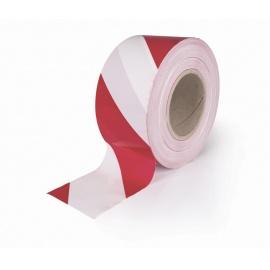 Páska vytyčovací 75x250 červeno/bílá výstražná