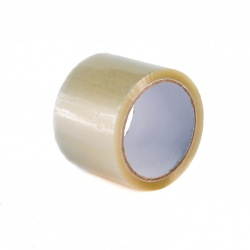 Lepící páska BOPP 75x66 Solvent transparent