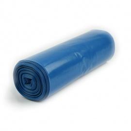 LDPE pytel 550x1000 mm, 80 my, modrý, 80L, 20ks/role
