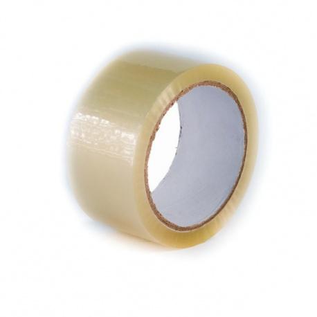 Lepící páska BOPP 48x66 Solvent transparent