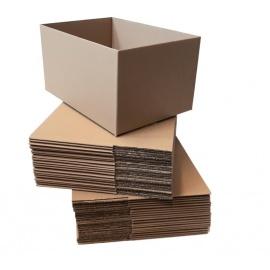 Kartonová krabice 3VVL 300x200x150 mm, bez horních klop