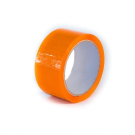 Lepící páska BOPP 48x66 Akryl oranžová