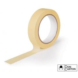 Maskovací páska 19x50 HM žlutá 60°C