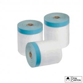 CQ fólie s UV PVC maskovací páskou 210 x 20